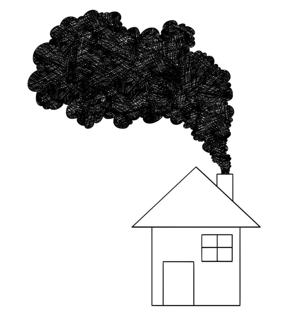 Jak smog wnika do powietrza w mieszkaniu - PM 2.5, PM 10