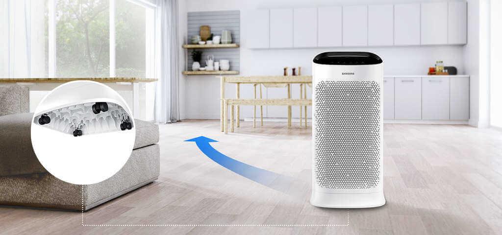 Oczyszczacz Samsung AX60R5080WD - funkcje dodatkowe