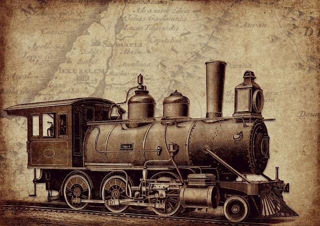 Historia smogu - silnik parowy